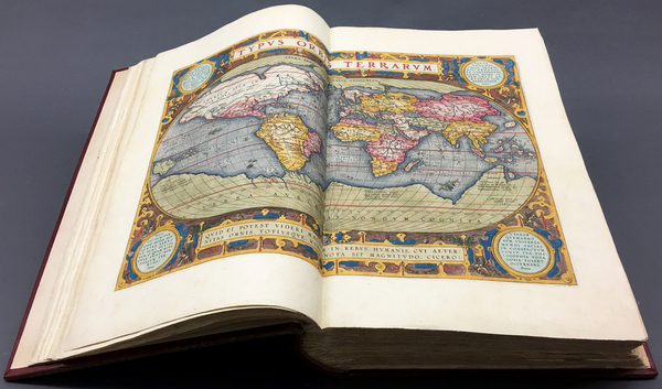 40-Atlases Map By Abraham Ortelius