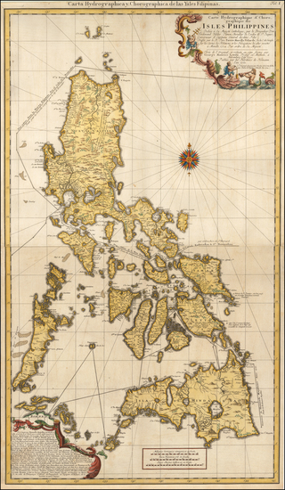 75-Philippines Map By Homann Heirs / George Maurice Lowitz