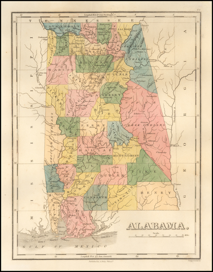 24-Alabama Map By Anthony Finley