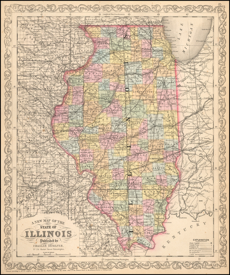 Illinois Map By Charles Desilver