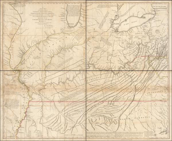 10-Mid-Atlantic, South, Southeast and Midwest Map By Thomas Hutchins