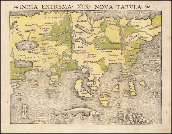 6-Asia Map By Sebastian Munster