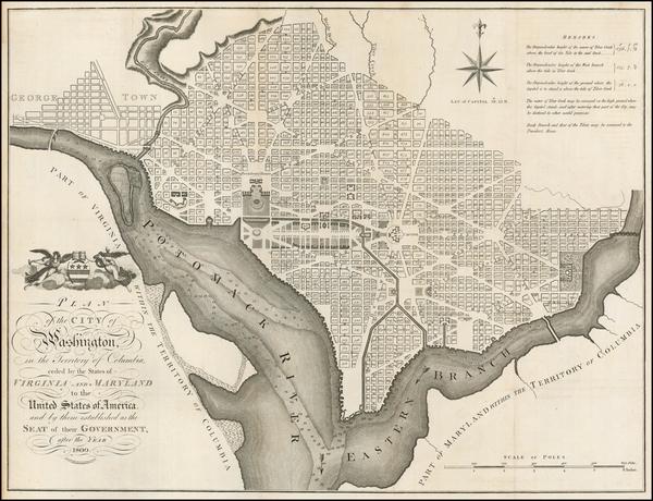 68-Washington, D.C. Map By John Russell