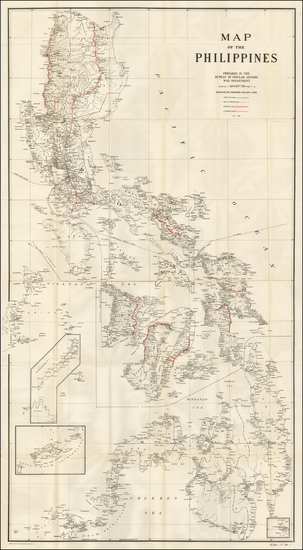58-Philippines Map By Andrew B. Graham