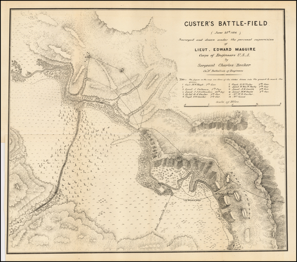 19-Montana and Wyoming Map By U.S. Army Corps of Engineers