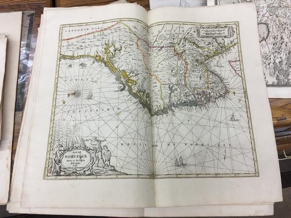 57-Norway Map By Peter Schenk  &  Gerard Valk