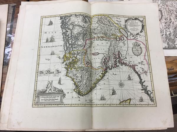 18-Norway Map By Peter Schenk  &  Gerard Valk