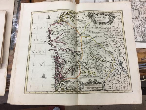 99-Norway Map By Peter Schenk  &  Gerard Valk