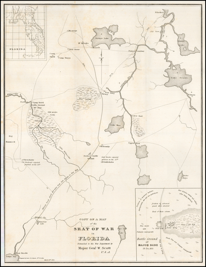 70-Florida Map By United States GPO