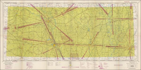 93-Louisiana Map By U.S. Coast & Geodetic Survey
