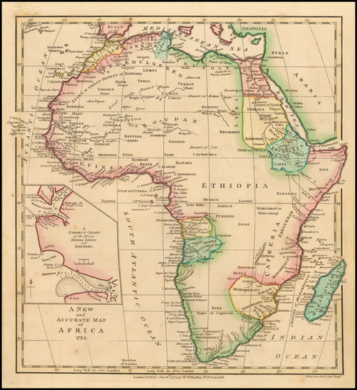 11-Africa Map By Robert Wilkinson