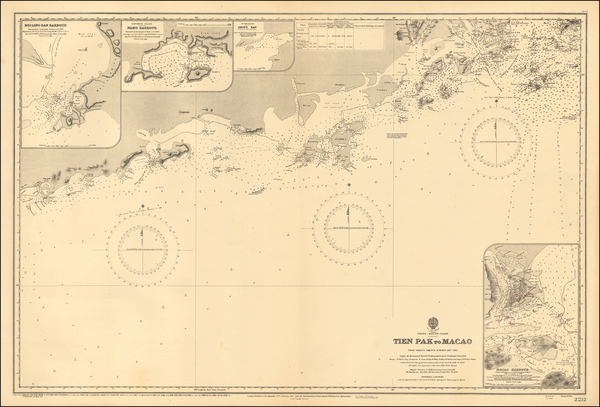25-China Map By British Admiralty