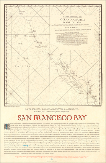 29-California and San Francisco & Bay Area Map By