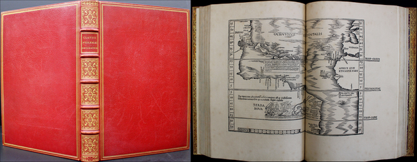 100-Atlases Map By Lorenz Fries / Claudius Ptolemy / Michael Villanovanus (Servetus)