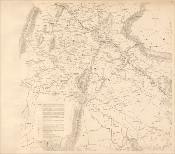 20-Mid-Atlantic and Southeast Map By United States Bureau of Topographical Engineers