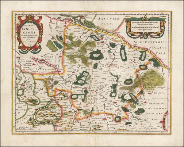 2-Norddeutschland Map By Jan Jansson