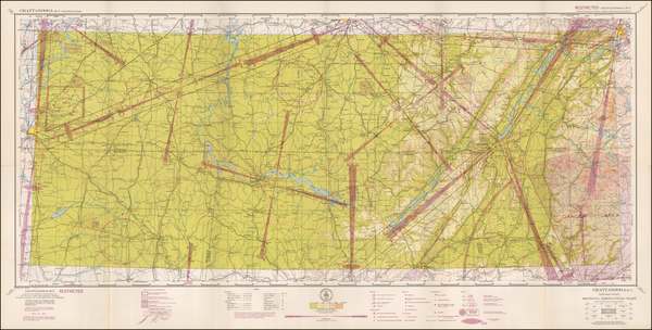 55-Tennessee Map By U.S. Coast & Geodetic Survey