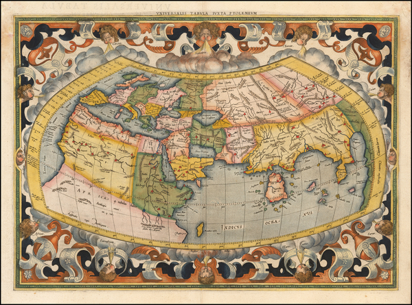 26-World Map By  Gerard Mercator