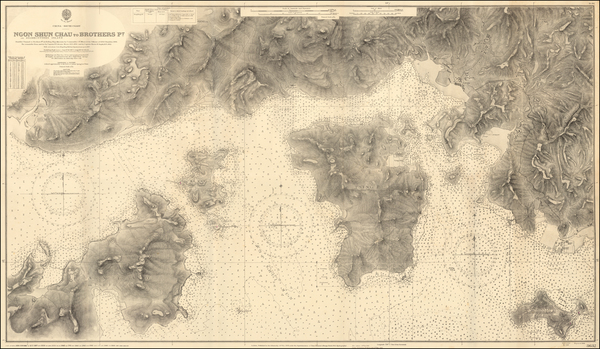 8-Hong Kong Map By British Admiralty