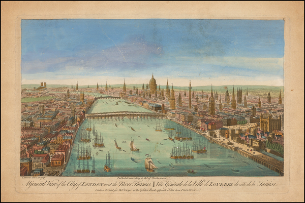 46-London Map By Thomas Bowles