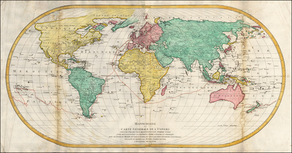 7-World Map By Mathais Albrecht Lotter
