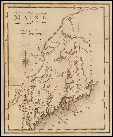 92-Maine Map By Joseph Scott