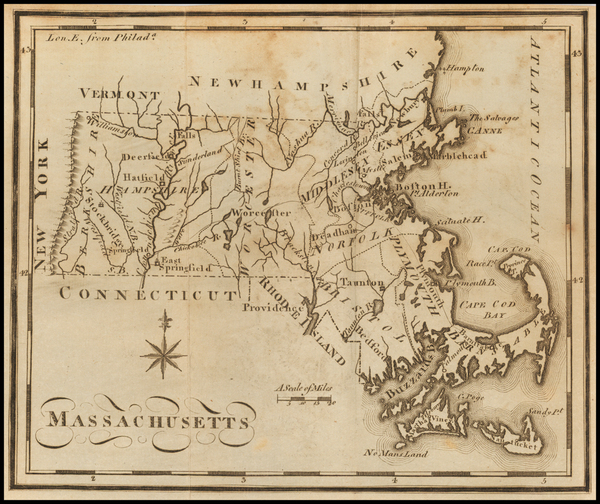16-Massachusetts Map By Joseph Scott