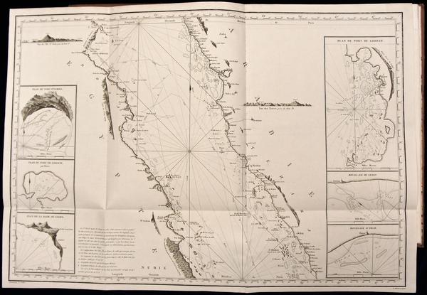 51-Atlases Map By Jean-Baptiste-Nicolas-Denis d'Après de Mannevillette