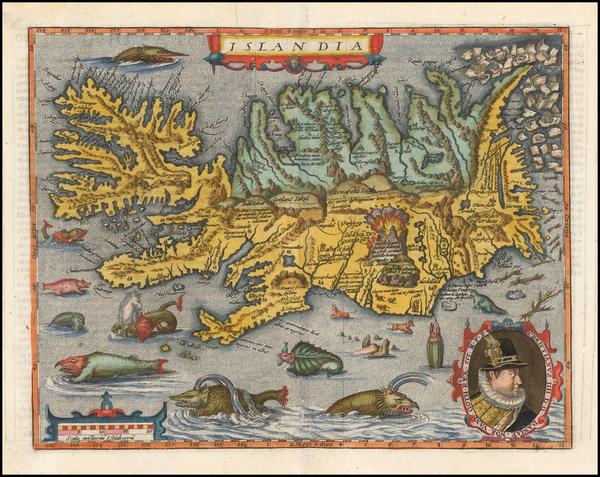 55-Iceland Map By Matthias Quad