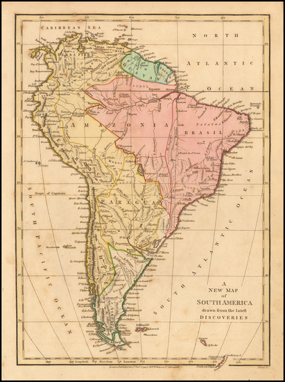 26-South America Map By Robert Wilkinson
