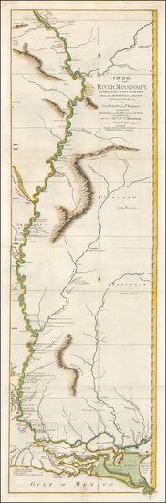 44-South, Louisiana, Mississippi, Arkansas, Tennessee, Midwest, Illinois and Missouri Map By Rober