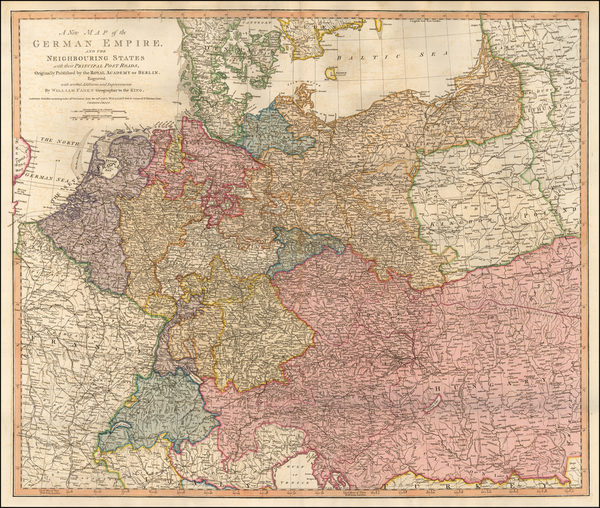 29-Germany and Poland Map By William Faden