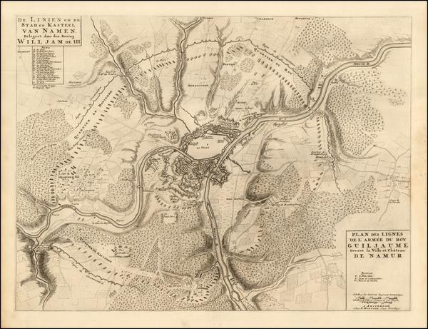 84-Belgium Map By Pierre Mortier