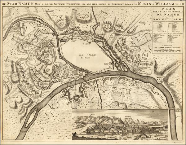 24-Netherlands Map By Pierre Mortier
