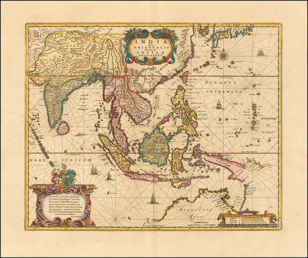 72-Southeast Asia Map By Peter Schenk  &  Gerard Valk