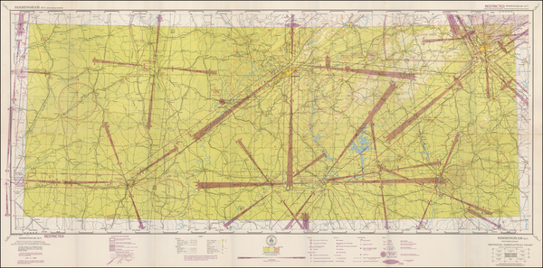88-Alabama Map By U.S. Coast & Geodetic Survey