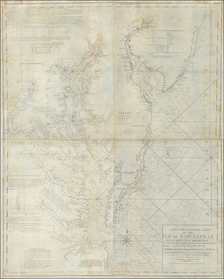 94-Mid-Atlantic, New Jersey, Maryland, Delaware, Southeast and Virginia Map By William Norman
