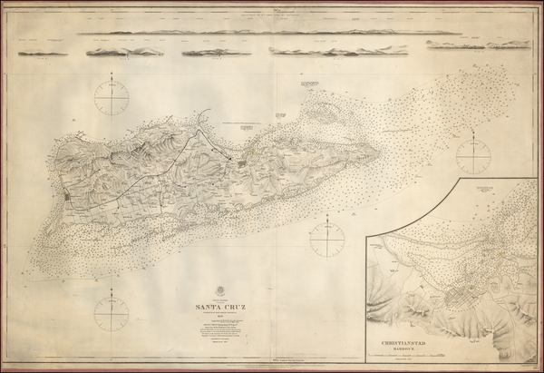 19-Virgin Islands Map By British Admiralty