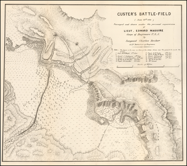 90-Montana and Wyoming Map By U.S. Army Corps of Engineers