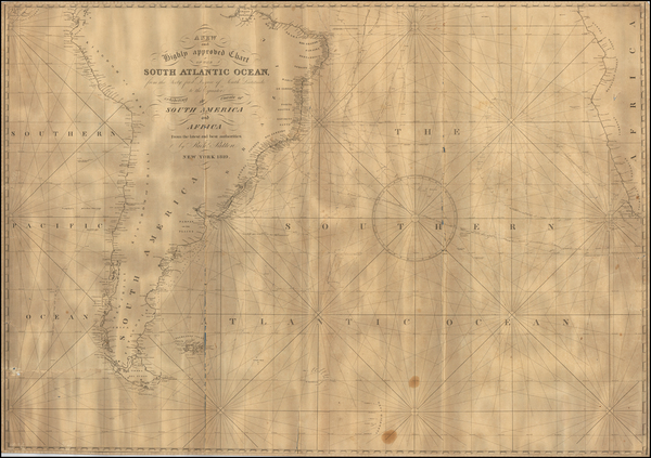 62-South America Map By Richard Patten