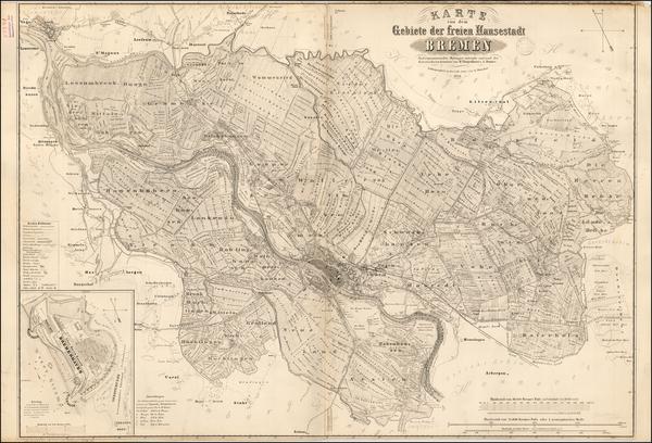 4-Germany Map By Johann Heinrich Thatjenhorst