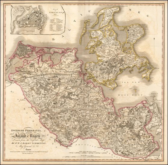 76-Germany Map By William Faden