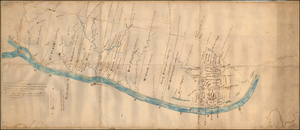 30-Kentucky and Illinois Map By George Armstrong