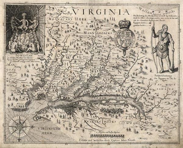 72-Southeast Map By John Smith
