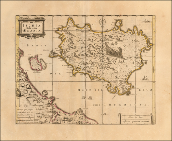 57-Southern Italy and European Islands Map By Peter Schenk / Gerard Valk