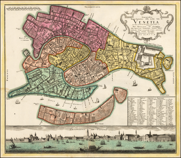 Venice Map By Homann Heirs