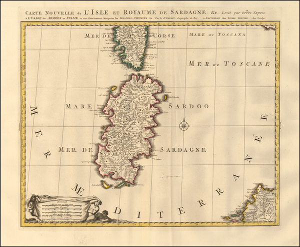 1-Sardinia Map By Pieter Mortier