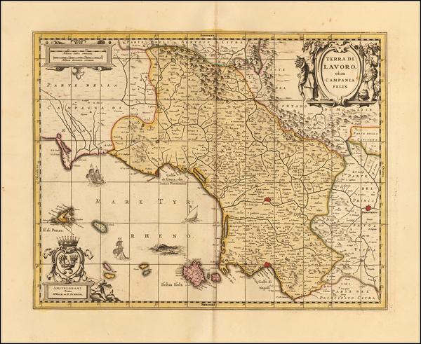 Southern Italy Map By Gerard Valk  &  Leonard Schenk