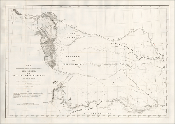30-Kansas, Oklahoma & Indian Territory, Southwest and Rocky Mountains Map By United States Bur