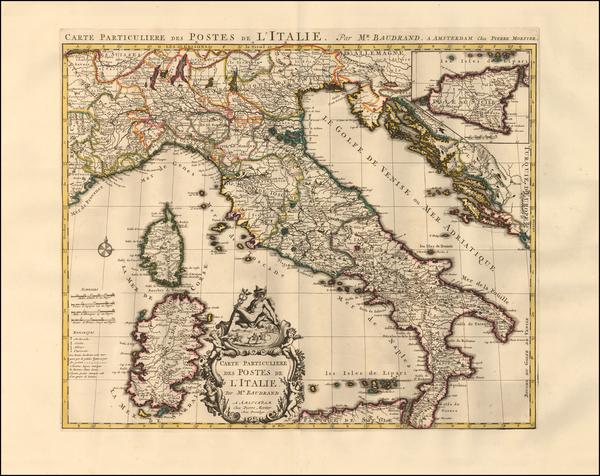 11-Italy Map By Pieter Mortier